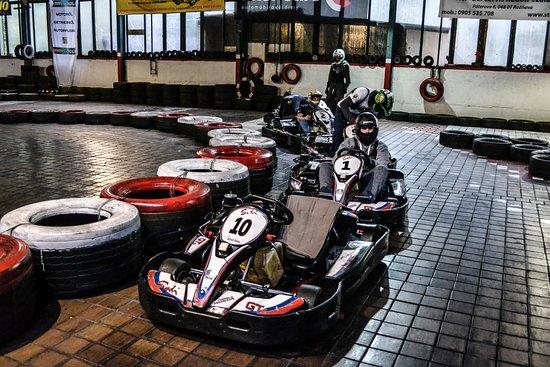 Karting arena plesivec