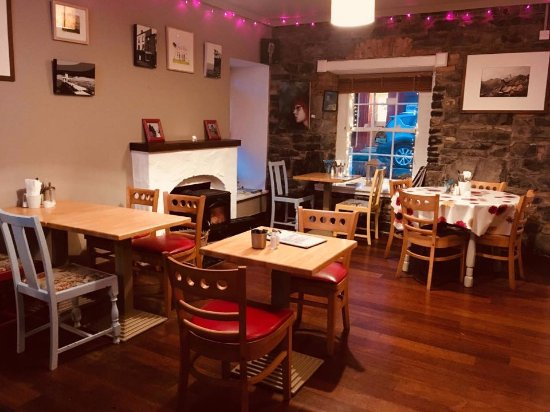 Oughterard, Irlande : camp street cafe