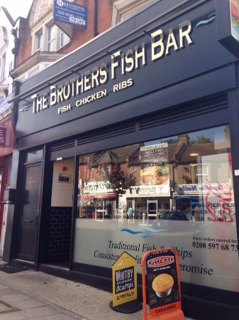 Ilford, UK: Shop Front