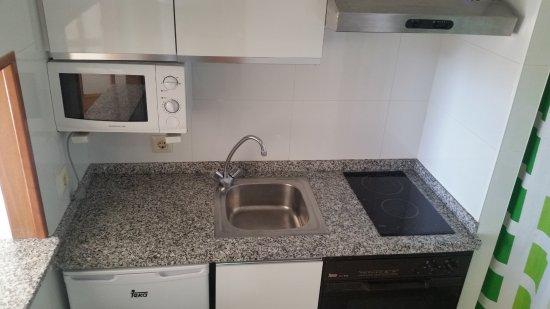 Maria Victoria Apartments: Cocina apartamentos de 1 dormitorio