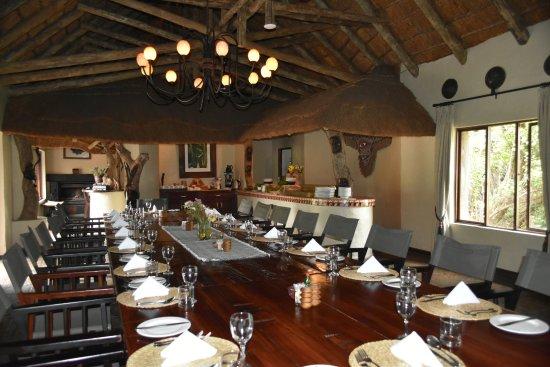 Driekoppen, Sudáfrica: Dining area
