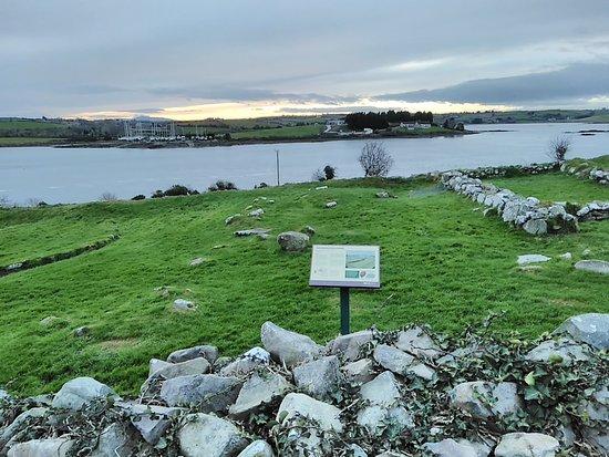 Nendrum Monastic Site: View towards Sketrick Island