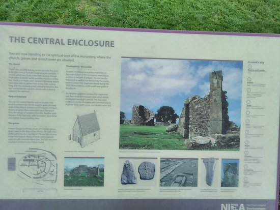 Nendrum Monastic Site: Story of the Central Enclosure