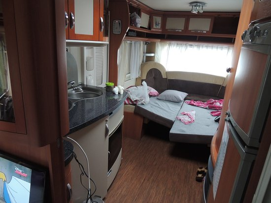Dining Table Converted Into A Bed Picture Of Go Outdoors Caravan - Table converts to bed