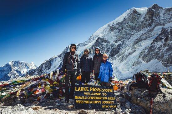Bagmati Zone, Nepal: Larke pass.