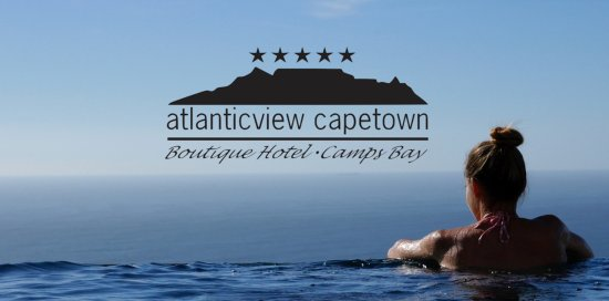 ‪‪Atlanticview Cape Town Boutique Hotel‬: The Perfect Infinity! 3 Shades of Blue, from the Pool to the Ocean to the Sky!‬