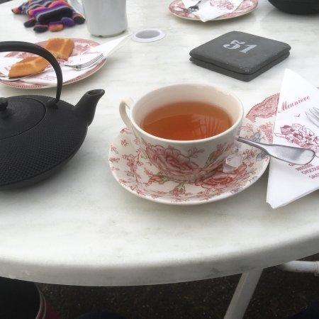 La Belle Meunière : Thé et financier