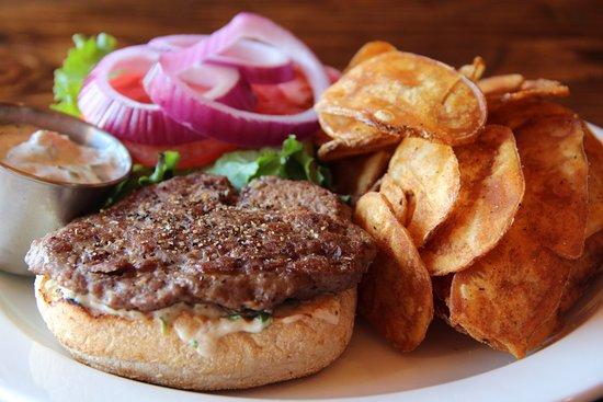 Barrhead, Canada: Elk Burger