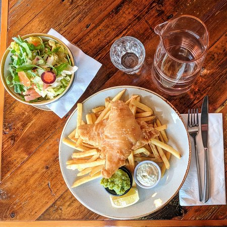gluten free fish and chips london