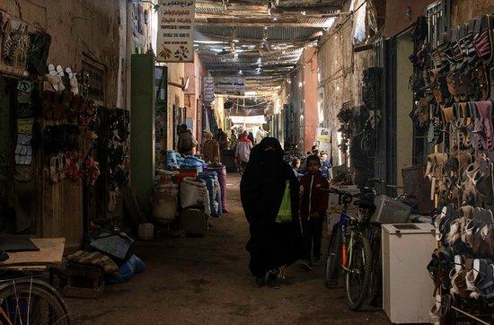 Rissani Market: souk, stradina