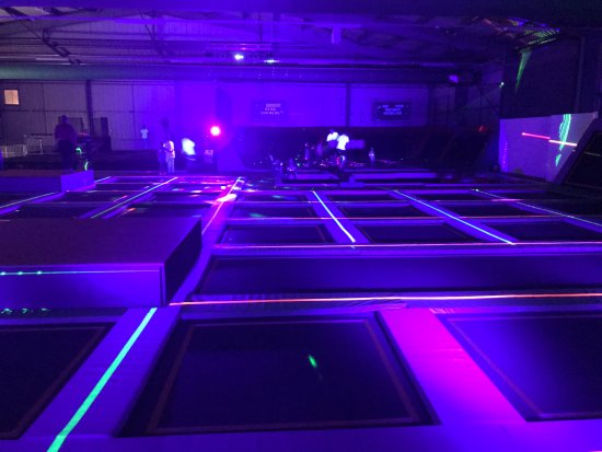 Gateshead, UK: Our amazing UV & Laser night