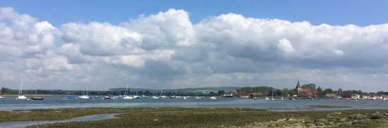 Bosham Harbour from Shore Road