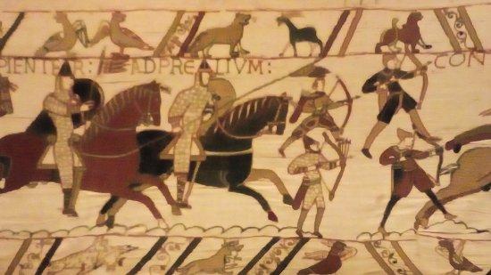 Museo del Tapiz de Bayeux: Chevaliers et archers