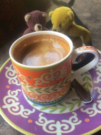 The Africa Cafe: A very stout espresso!