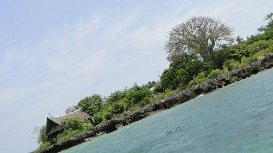 Shimoni, Kenya: Approaching Wasini island