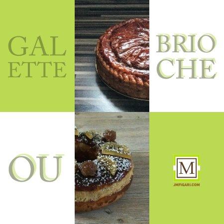 Figari, Frankrijk: Vous êtes prêts pour la galette ou la brioche des rois ? C'est dès ce vendredi en commande !