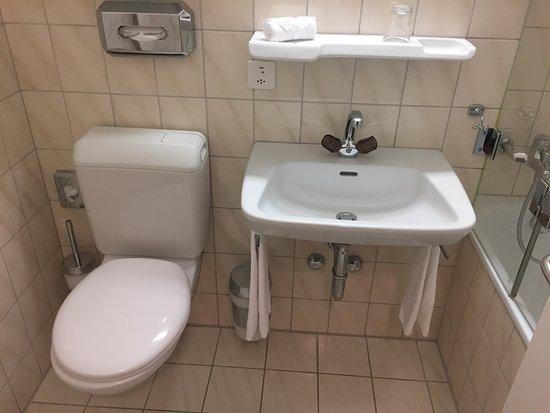 wc lavabo picture of hotel ambassador lucerne tripadvisor. Black Bedroom Furniture Sets. Home Design Ideas