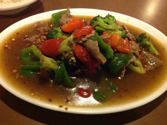 Roseville, MN: Beef with Vegetables Dish