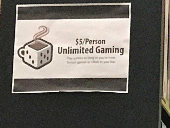 College Park, MD: $5 for unlimited games!