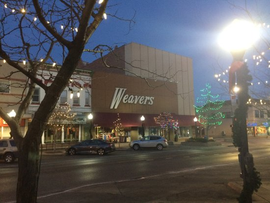 Weavers Department Store Christmas 2017 Lawrence Kansas