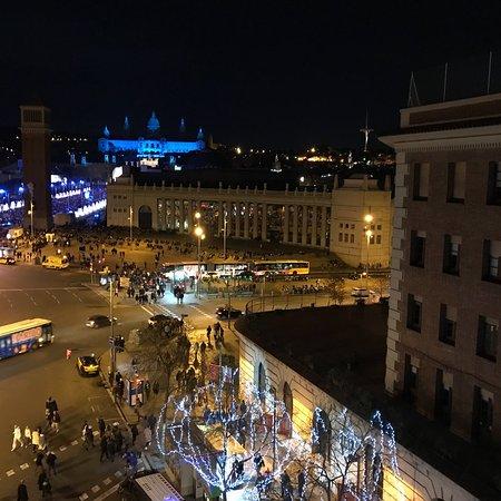 Catalonia Barcelona Plaza: Panorama dalla camera