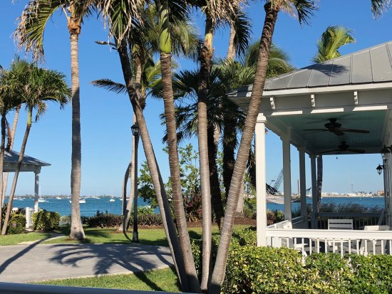 Sunset Key Cottages: view from our porch, looks at Key West