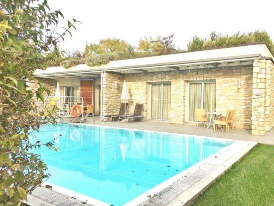 Camera con piscina privata picture of parc hotel germano - Hotel con piscina privata grecia ...