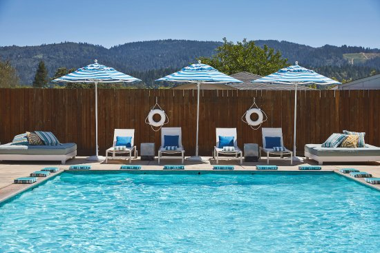 Calistoga, CA: Geothermal pools