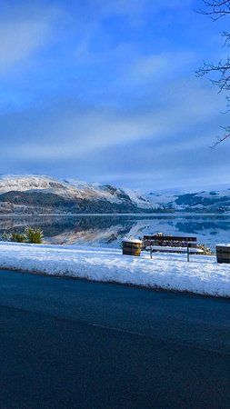 Lochcarron, UK: a beautiful crisp snowy day