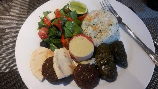 Bogota Plaza Summit Hotel: Vegetarian lunch option