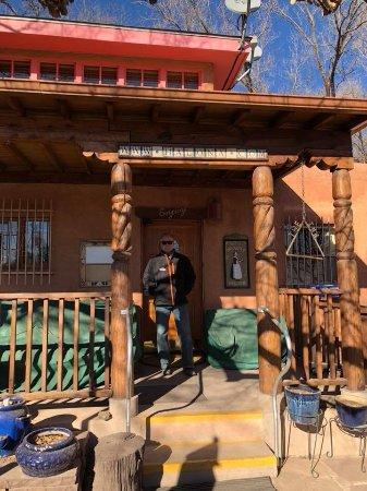 Zuni, Nuevo México: The front entrance