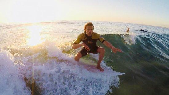 8-Week Surf Development Course on the NSW South Coast: Sunrise surf at Bulli Beach