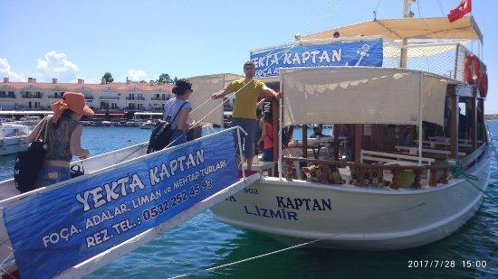 Фока, Турция: Yekta Kaptan