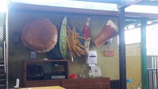 Jimmy Buffett's Margaritaville Ocho Rios: Interesting decor!