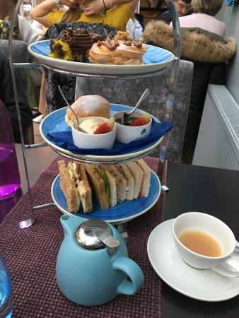 Porthallow, UK: afternoon tea
