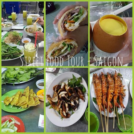 Vietnamese Street Food Tour: Some of the food on the bike tour