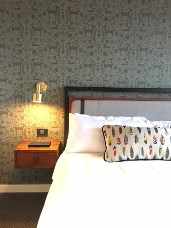 Ordinaire Hewing Hotel: The Rooms Are Perfectly Minnesotan With Custom Scandinavian  Wallpaper And Pillows