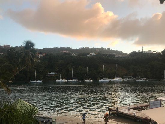 Marigot Beach Club and Dive Resort: Another amazing view from our room
