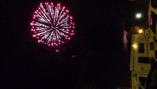 Stonehaven, UK: Fireworks Display