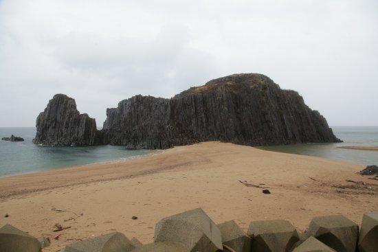 Kyotango, Japan: 立岩:聖徳太子母子像前から撮影