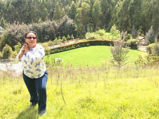 Tibasosa: Mirador del hotel