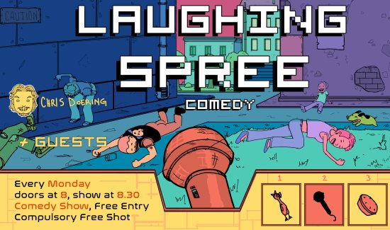 Laughing Spree Comedy