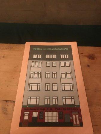 Brauhaus Putz: Die Speisekarte von außen