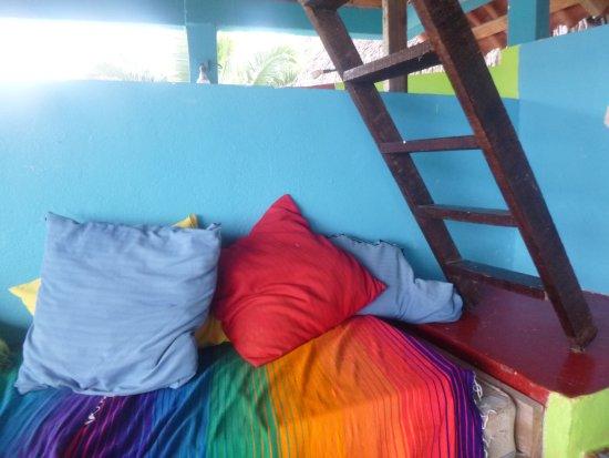Casa Vortex: Ladder to loft by teen tosse pillows
