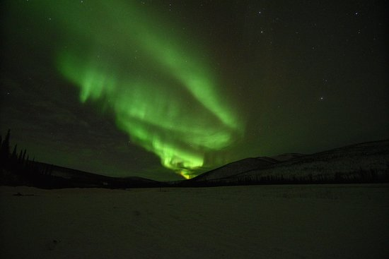 Fairbanks, AK: Aurora photo from the tour!