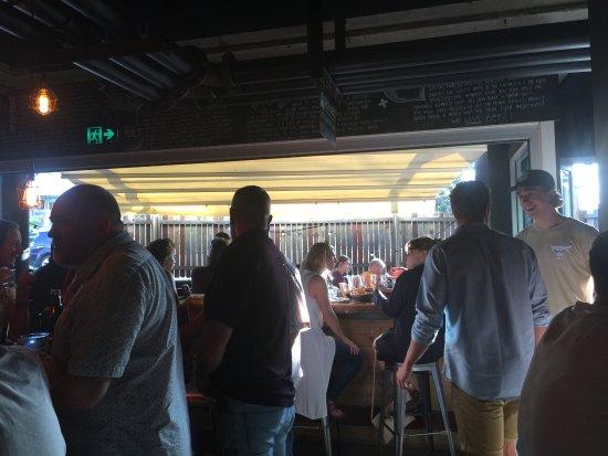 4 Pines Brew Pub: Interior Seating
