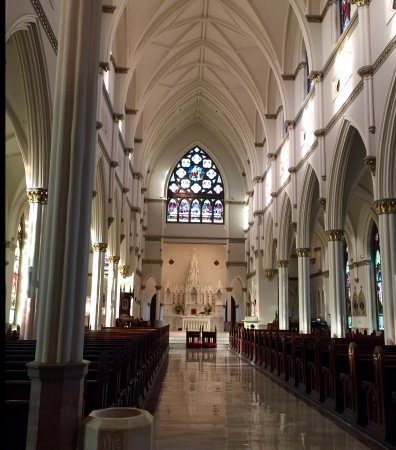 Cathedral of Saint John the Baptist: Magnificent centralized views of this NeoGothic masterwork