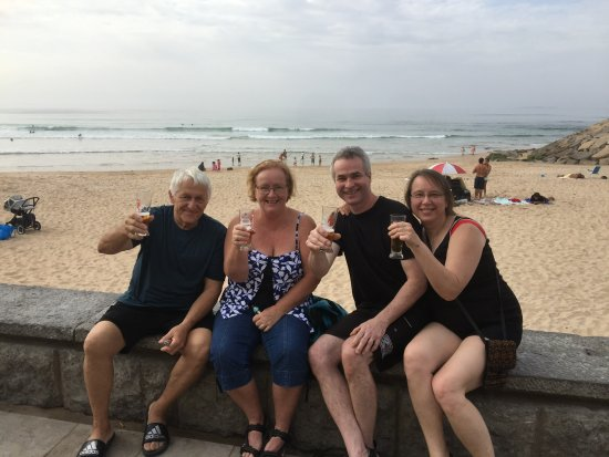 Áreia Branca, Portugal: Cerveja at Barraca Bar