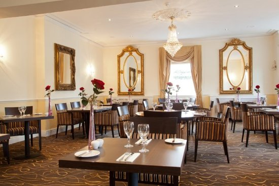 Staverton, UK: Restaurant