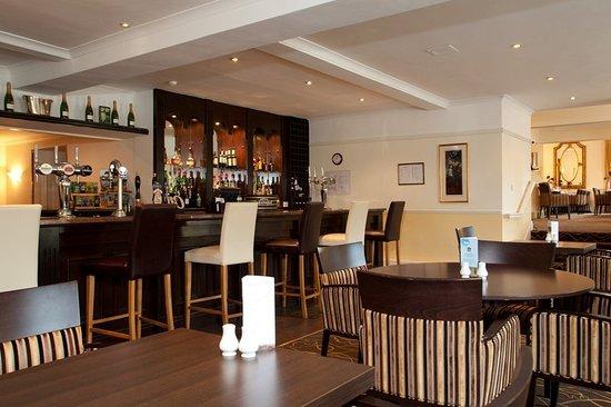 Staverton, UK: Bar/Lounge